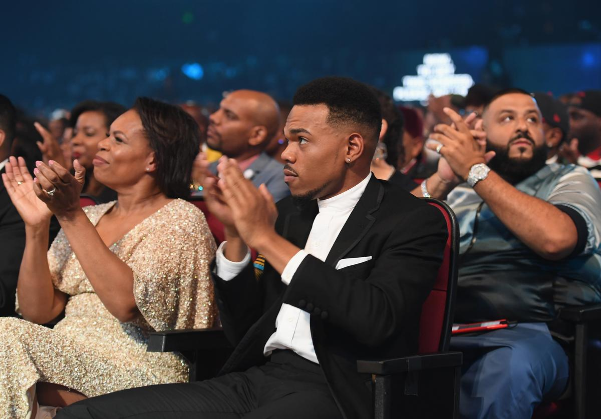 Chance The Rapper at 2017 BET Awards at Microsoft Theater on June 25, 2017 in Los Angeles, California.