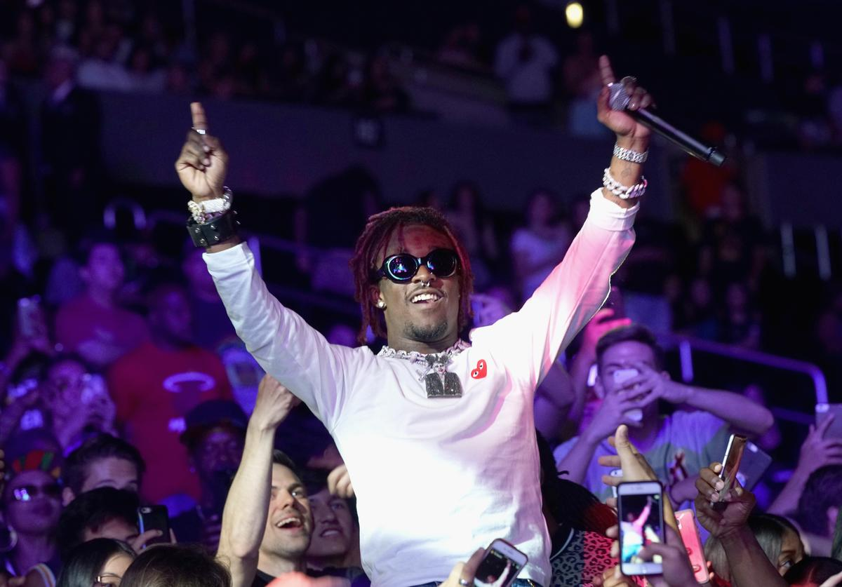 Recording artist Lil Uzi Vert performs at night one of the 2017 BET Experience STAPLES Center Concert, sponsored by Hulu, at Staples Center on June 22, 2017 in Los Angeles, California.