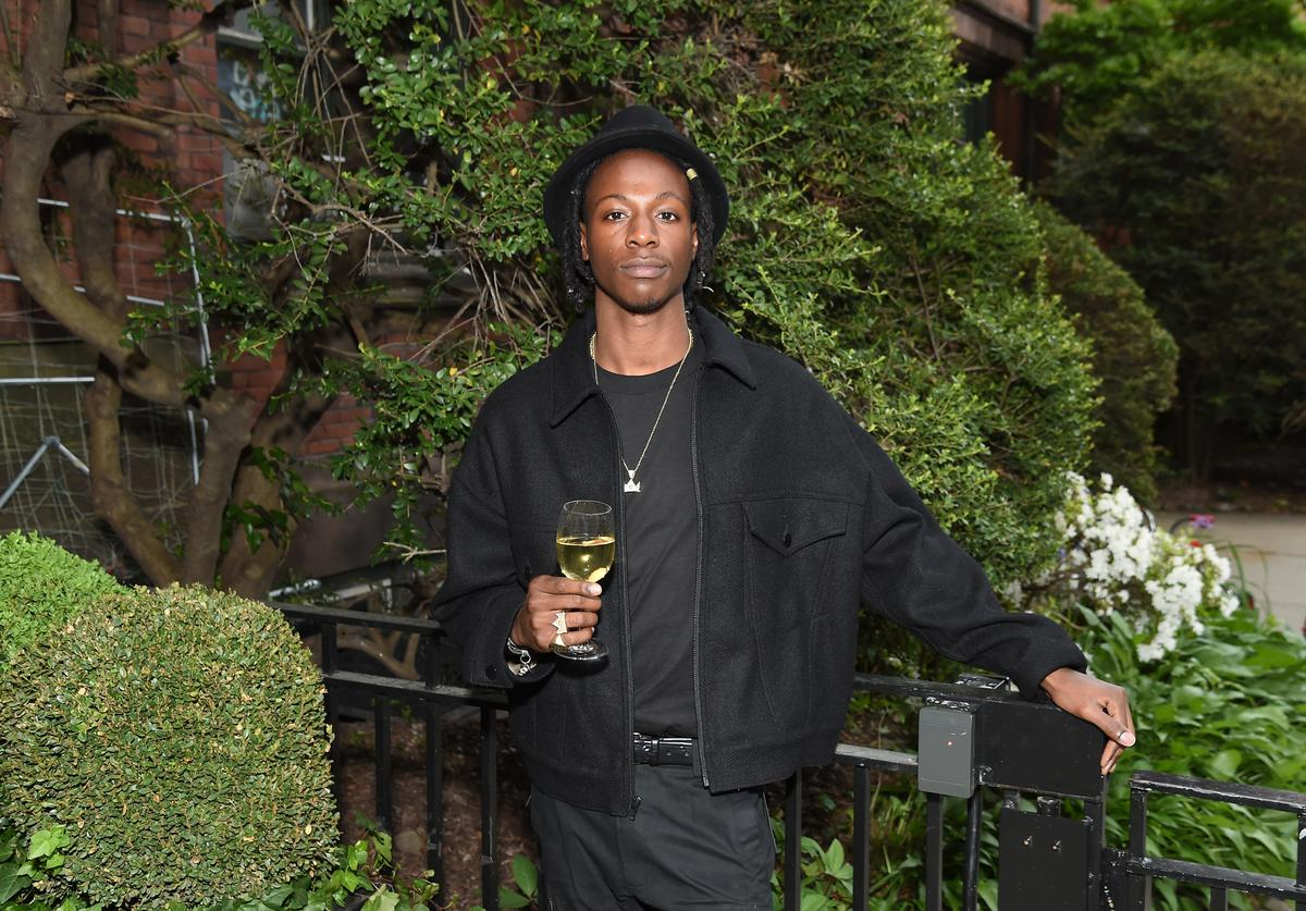 Joey Bada$$ at the Room to Read event honoring Sean 'Diddy' Combs & David M. Solomon for Impact On Global Education at 2017 New York Gala at The Highline Hotel on May 11, 2017 in New York City.