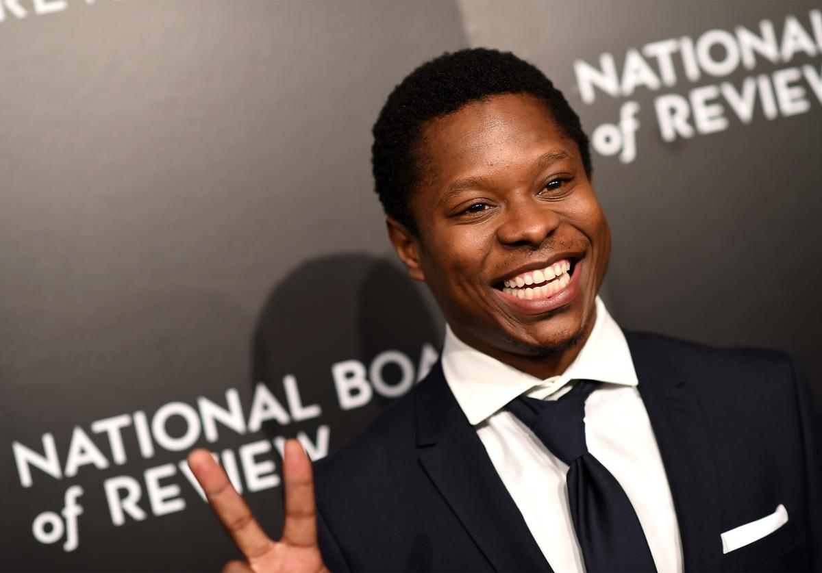 Actor Jason Mitchell attends 2015 National Board of Review Gala at Cipriani 42nd Street on January 5, 2016 in New York City.