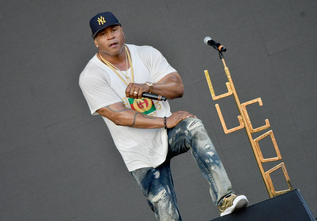 LL Cool J performs onstage during the Meadows Music and Arts Festival - Day 2 at Citi Field on September 16, 2017 in New York City.