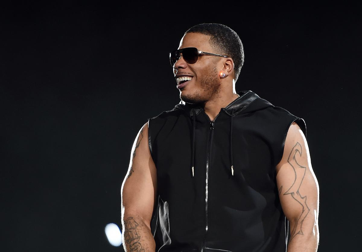 Rapper Nelly performs during the kickoff of The Main Event tour at the Mandalay Bay Events Center on May 1, 2015 in Las Vegas, Nevada.