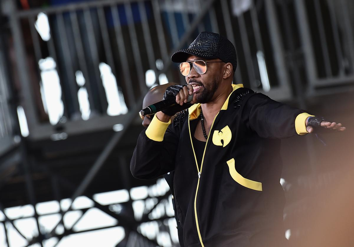 RZA of Wu-Tang Clan performs onstage during the 2017 Governors Ball Music Festival - Day 2 at Randall's Island on June 3, 2017 in New York City.