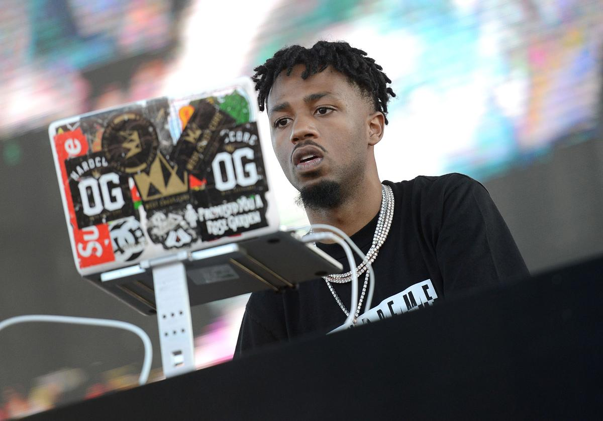 Producer Metro Boomin performs onstage during the Day N Night Festival at Angel Stadium of Anaheim on September 10, 2017 in Anaheim, California.