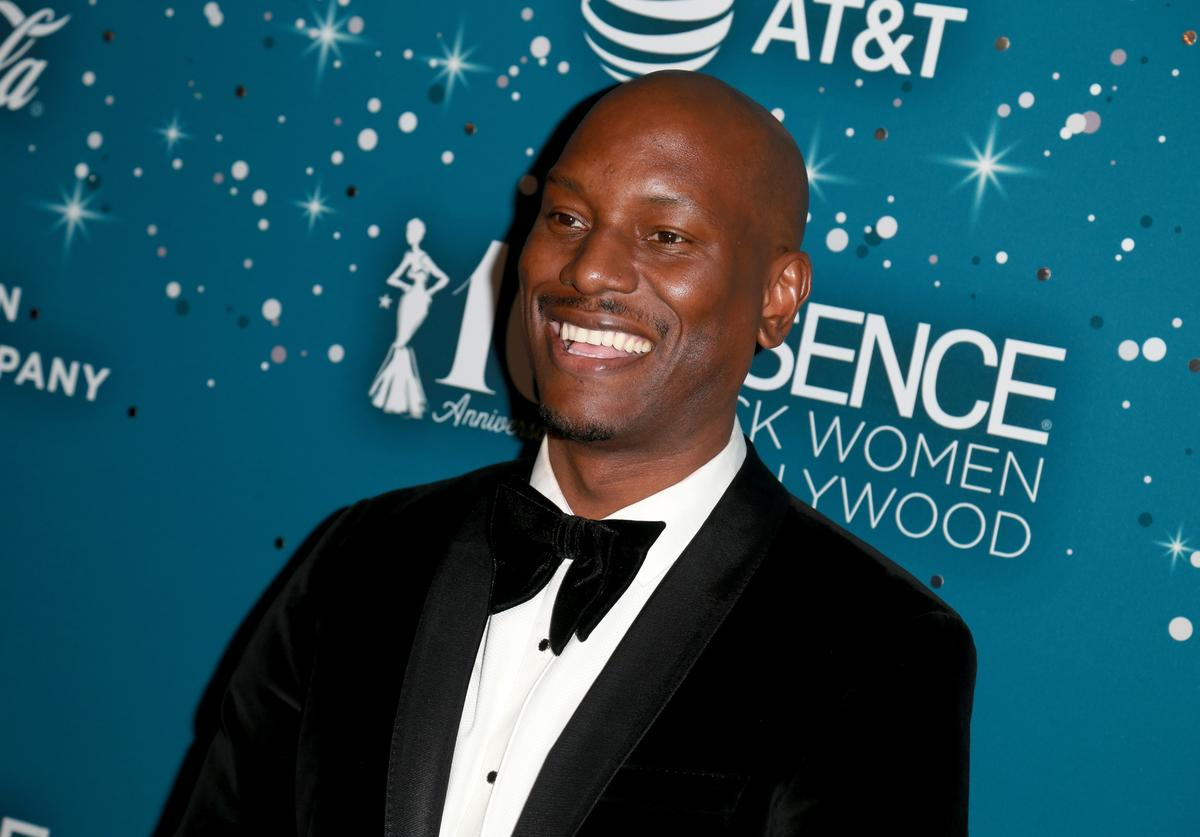 Tyrese Gibson at Essence Black Women in Hollywood Awards at the Beverly Wilshire Four Seasons Hotel on February 23, 2017 in Beverly Hills, California.