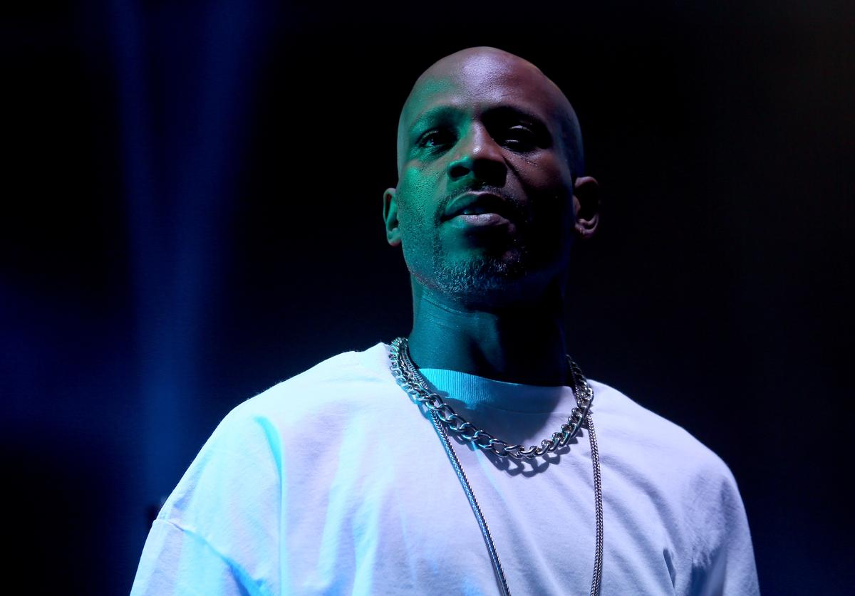 DMX performs onstage with DJ Snake during day 1 of the 2015 Coachella Valley Music And Arts Festival (Weekend 2) at The Empire Polo Club on April 17, 2015 in Indio, California
