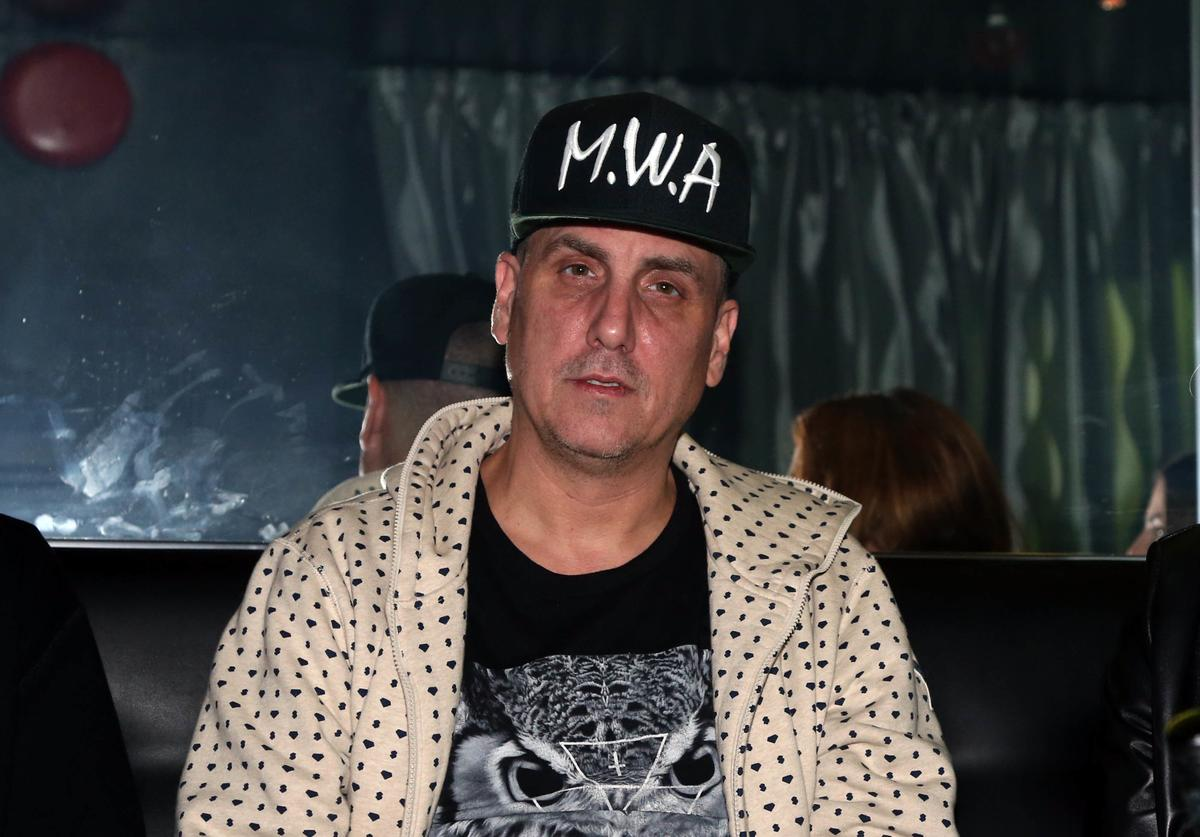Music producer Mike Dean attends SOB's on October 21, 2015, in New York City.