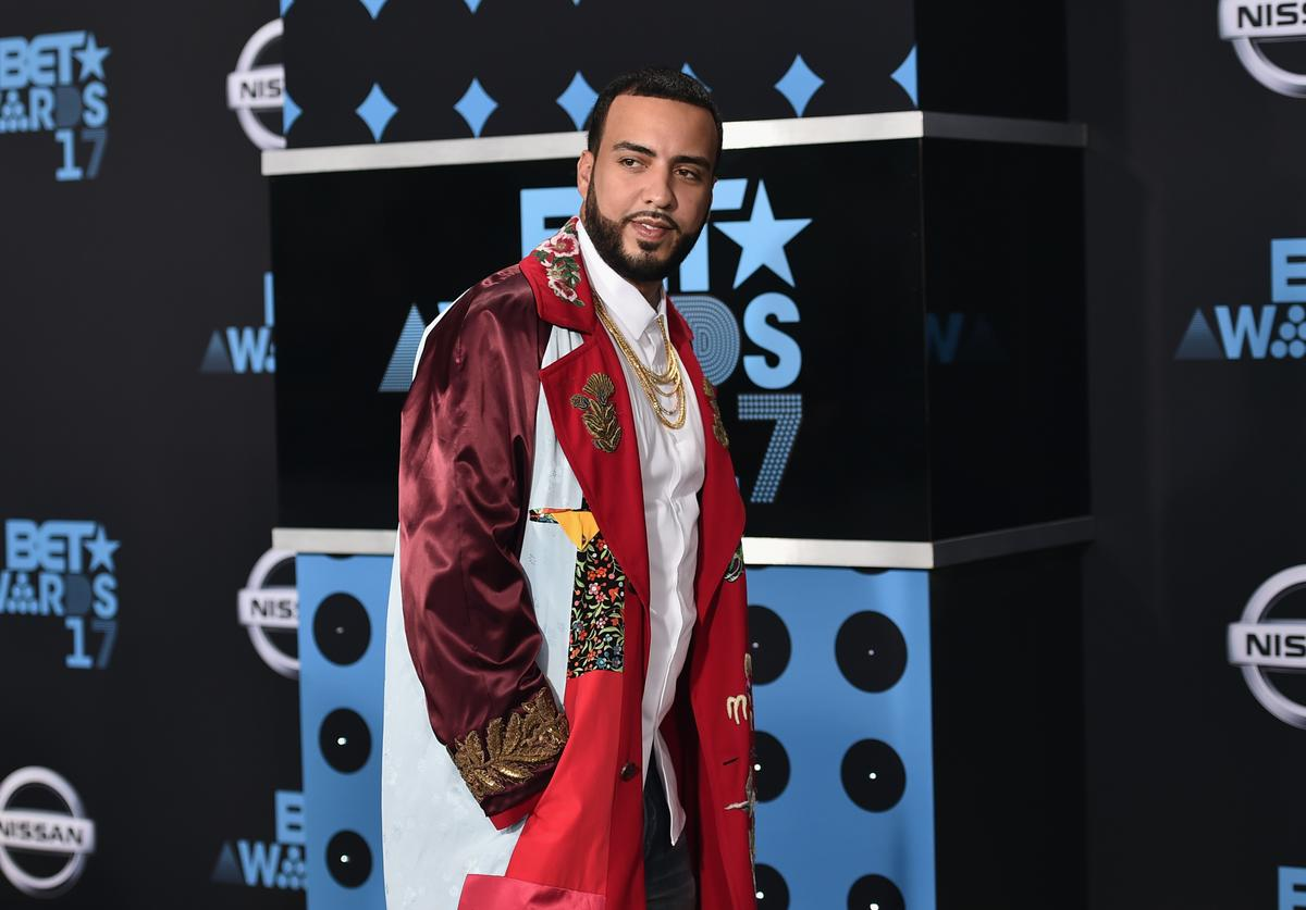 French Montana at the 2017 BET Awards at Microsoft Square on June 25, 2017 in Los Angeles, California.