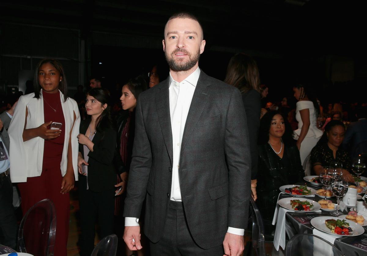 Justin Timberlake attends The Hollywood Reporter's 2017 Women In Entertainment Breakfast at Milk Studios on December 6, 2017 in Los Angeles, California.