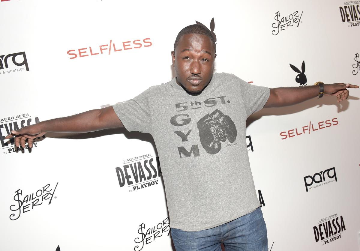 Actor Hannibal Buress attends Playboy and Gramercy Pictures' Self/less party during Comic-Con weekend at Parq Restaurant & Nightclub on July 10, 2015 in San Diego, California.