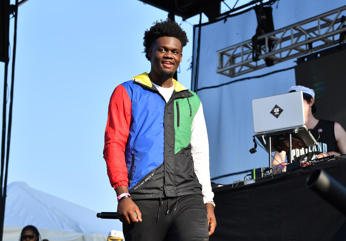 Ugly God performs during Day One of 2017 Billboard Hot 100 Festival at Northwell Health at Jones Beach Theater on August 19, 2017 in Wantagh City.
