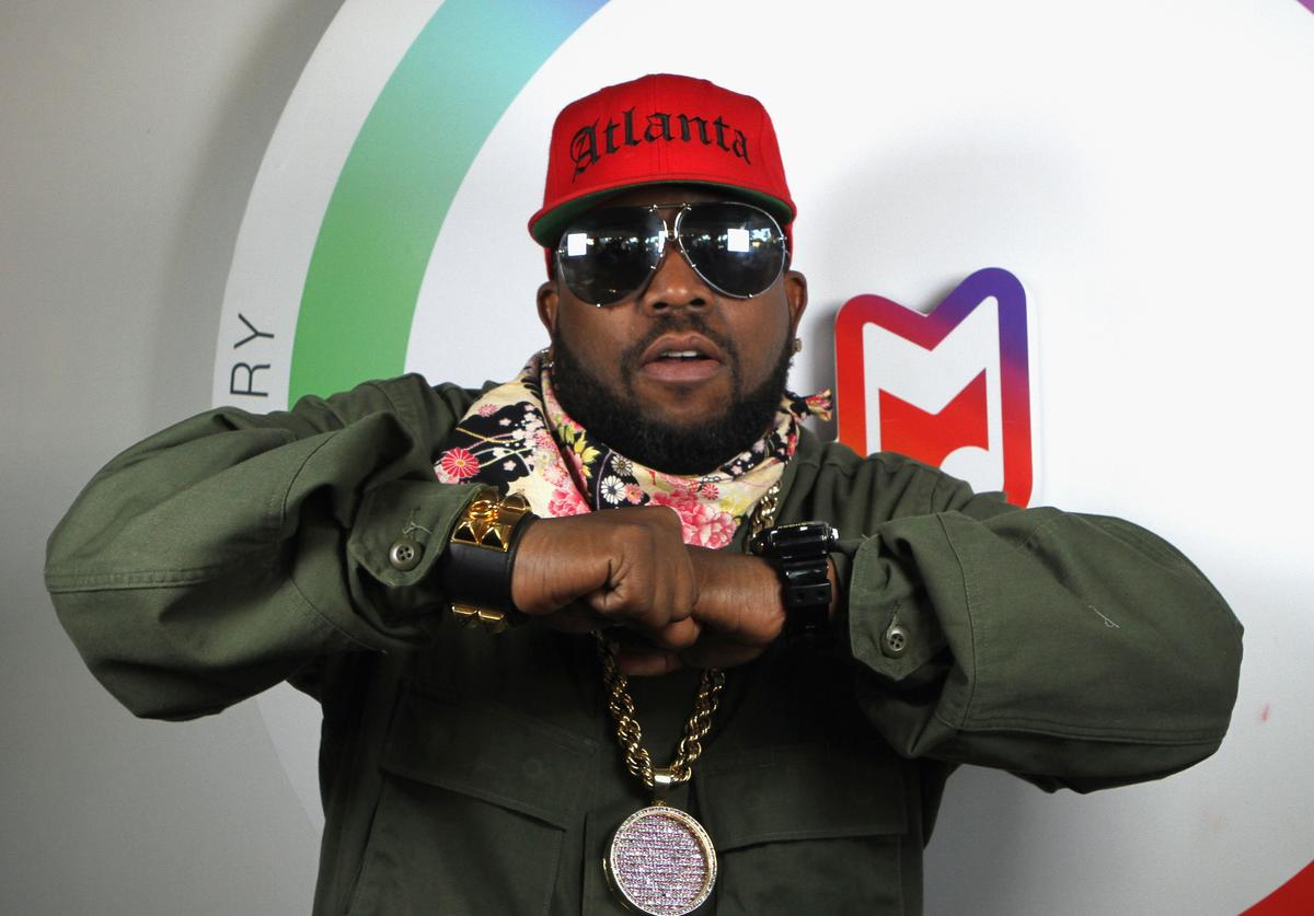 Rapper Big Boi stops by the Samsung Galaxy Owner's Lounge to create a #GalaxyVine at the Austin City Limits Music Festival on October 3, 2014 in Austin, Texas.