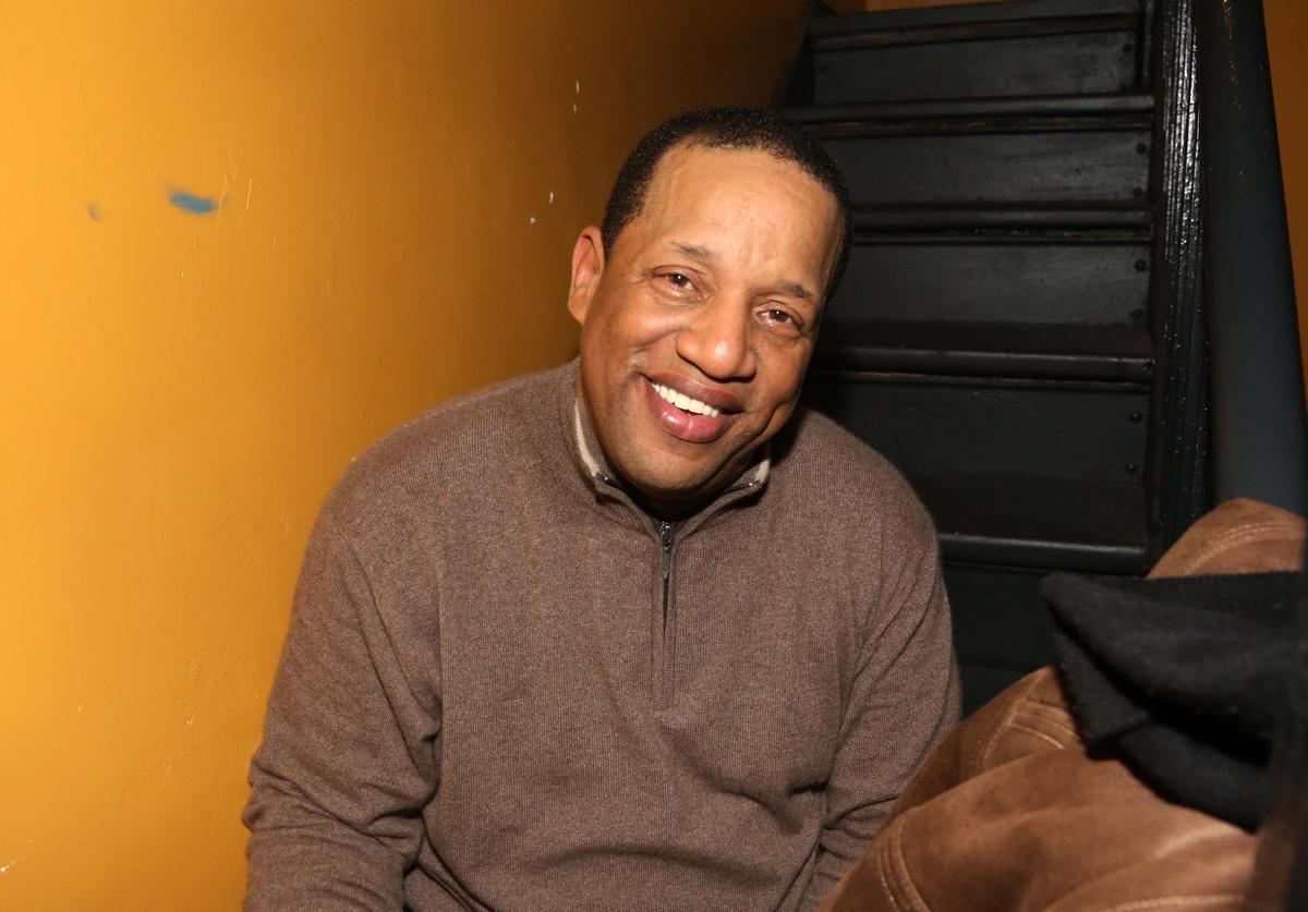 Lovebug Starski attends the Jodeci 'The Past The Present And The Future' Album Listening Session at Liberty Theater on March 31, 2015, in New York City.