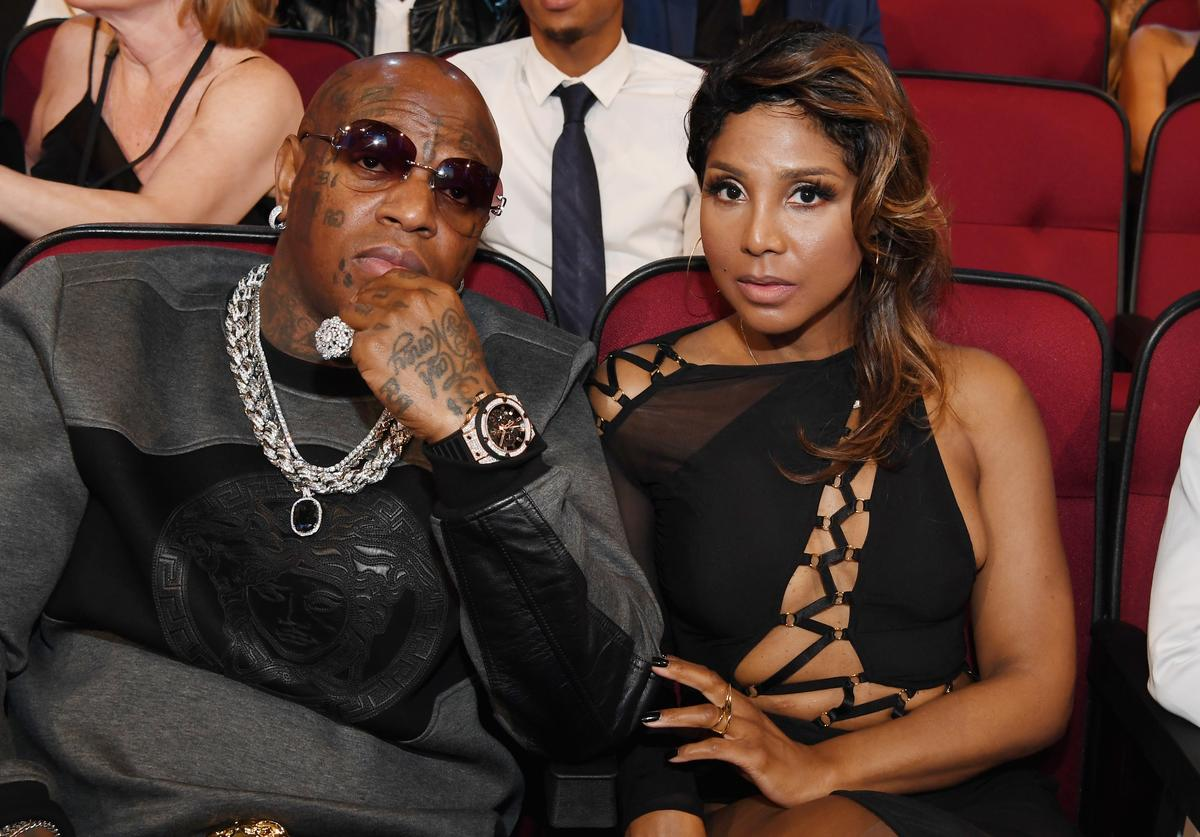 Recording artist Birdman (L) and singer Toni Braxton attend the 2016 BET Awards at the Microsoft Theater on June 26, 2016 in Los Angeles, California.