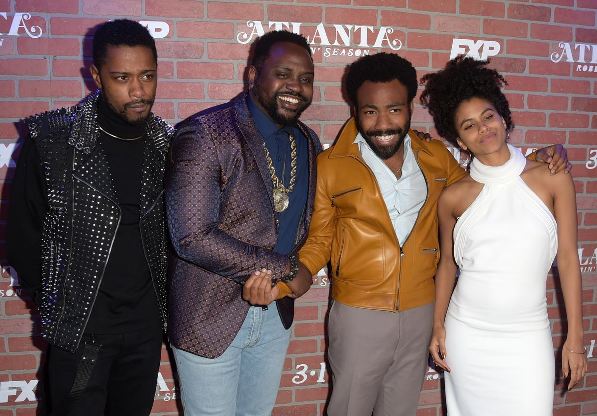 Donald glover, lakeith stanfield and more of the Atlanta cast