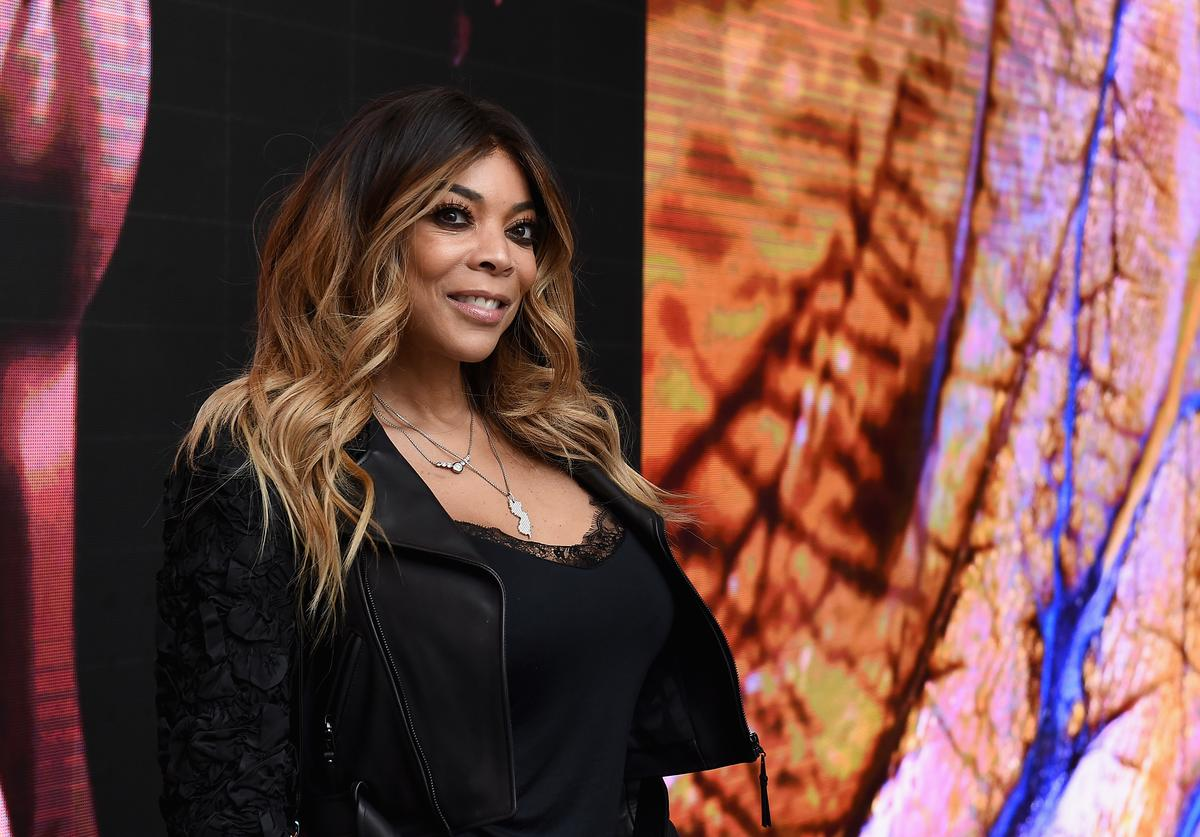 Wendy Williams attends the 50th anniversary celebration of Wilhelmina with co-host Patti Hansen on November 14, 2017 in New York City.