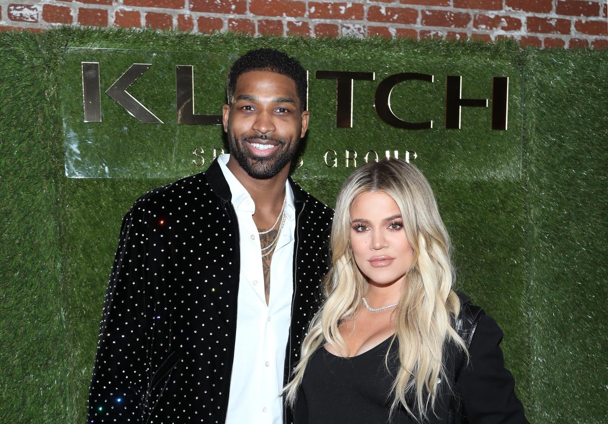 Tristan Thompson and Khloe Kardashian attend the Klutch Sports Group 'More Than A Game' Dinner Presented by Remy Martin at Beauty & Essex on February 17, 2018 in Los Angeles, California.