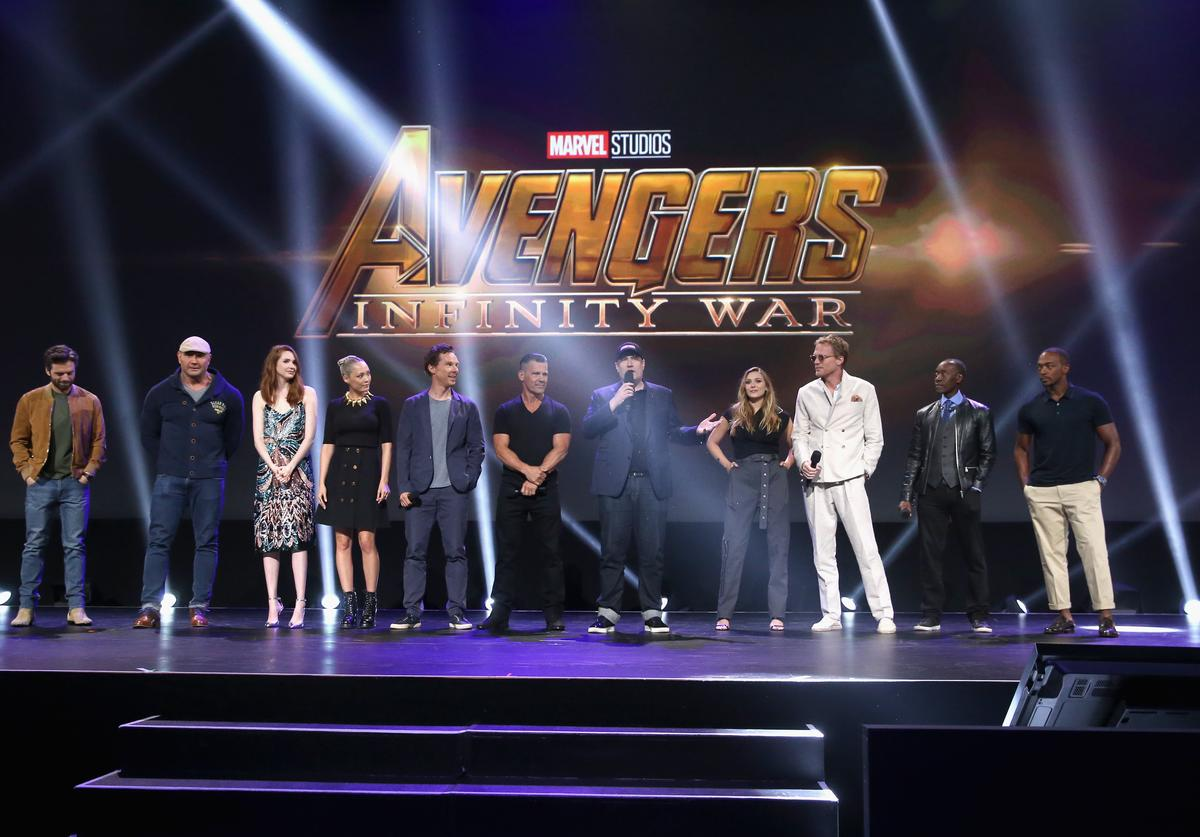 """The cast and crew of """"Avengers: Infinity War"""""""