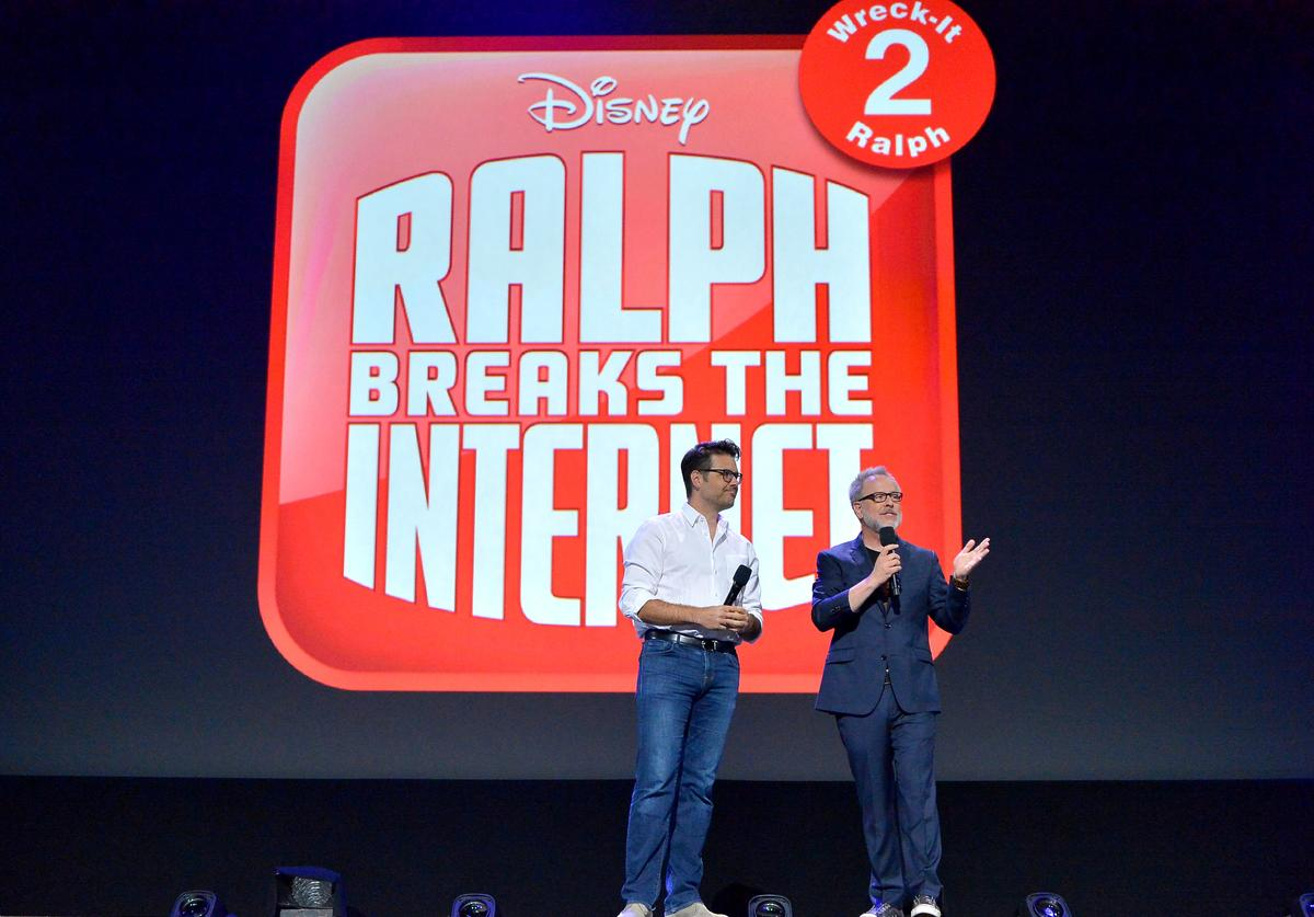 "The ""Wreck-It Ralph 2"" presentation at Disney's D23 Expo"