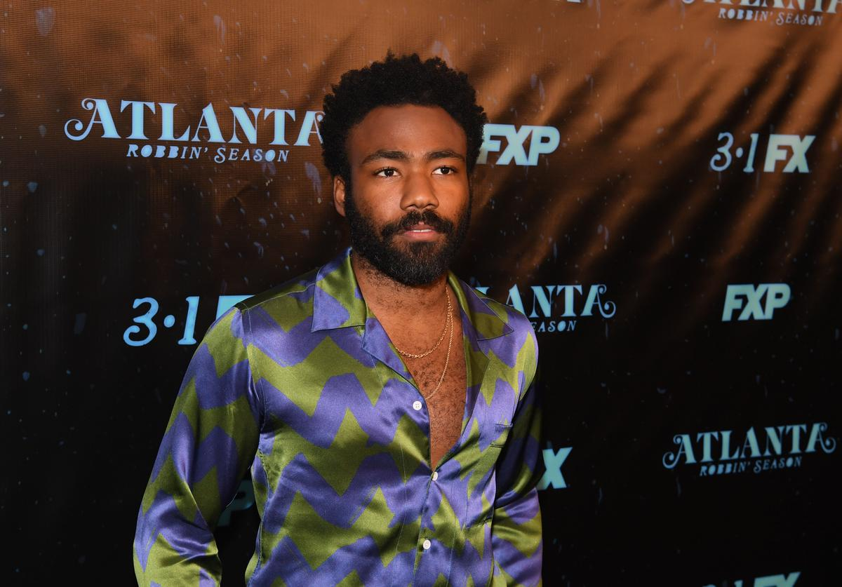 Donald Glover Open Shirt