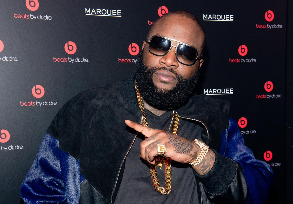 Singer Rick Ross attends Beats By Dr. Dre special event At Marquee New York on January 31, 2014 in New York City.