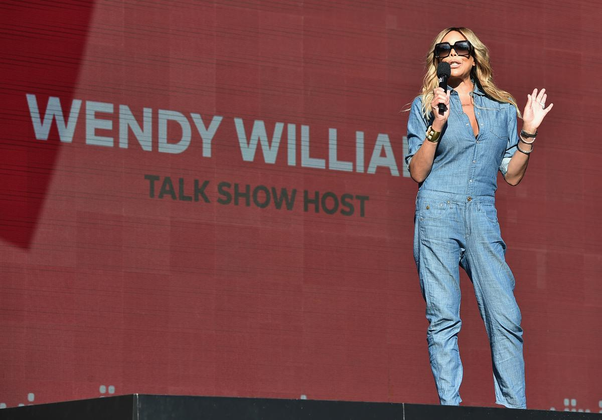 TV personality Wendy Williams speaks onstage during the 2017 Global Citizen Festival in Central Park on September 23, 2017 in New York City