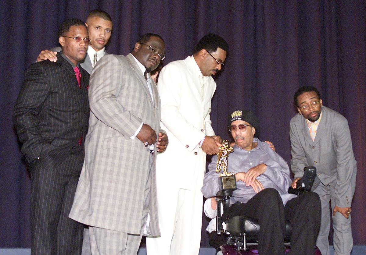 Richard Pryor at the premiere screening of 'The Original Kings of Comedy'