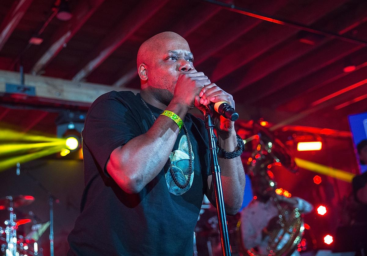 Too Short takes the stage with The Roots at the Bud Light Factory during the Bud Light Music Showcase on March 19, 2016 in Austin, Texas