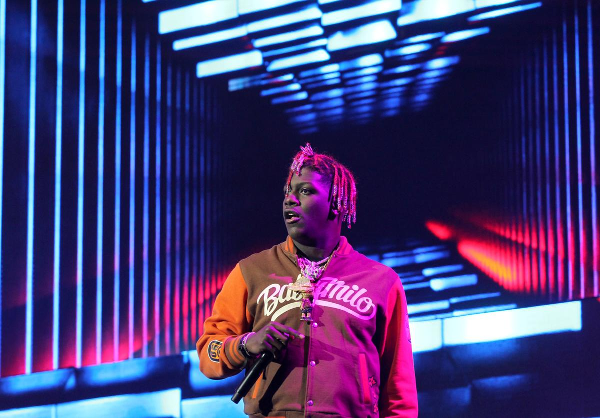 Lil Yachty performs onstage at night three of the STAPLES Center Concert, sponsored by Sprite, during the 2017 BET Experience at Staples Center on June 24, 2017 in Los Angeles, California.