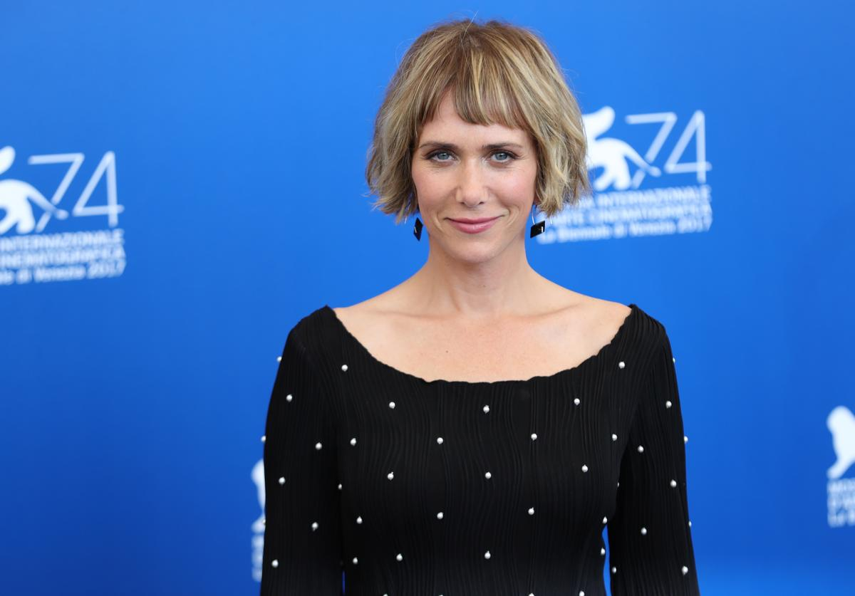 Kristen Wiig at the 'Downsizing' photocall
