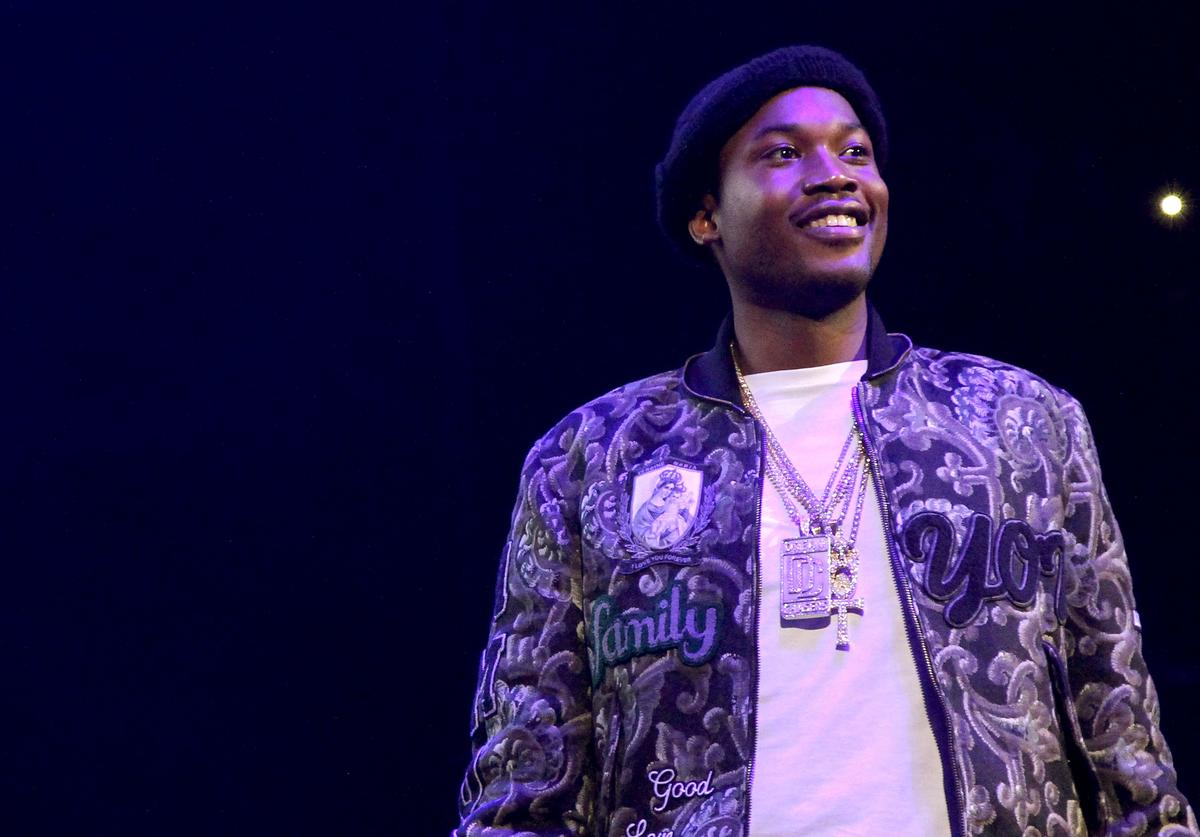 Meek Mill performs onstage during 105.1's Powerhouse 2015 at the Barclays Center on October 22, 2015 in Brooklyn, NY