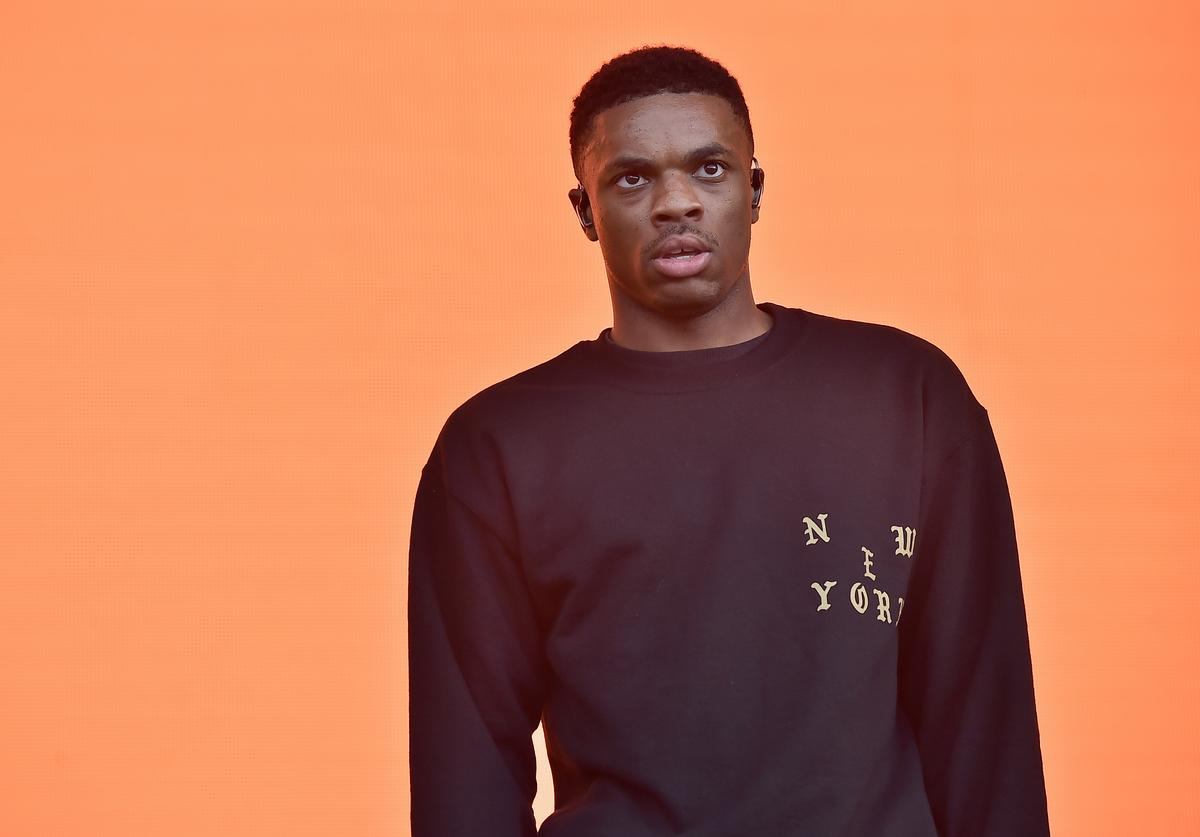 Vince Staples performs on the Panorama stage during the 2017 Panorama Music Festival - Day 2 at Randall's Island on July 29, 2017 in New York City