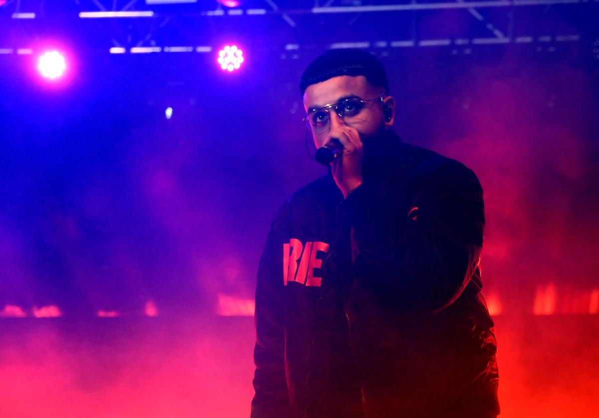 Nav performs onstage at the Gobi tent during day 2 of the Coachella Valley Music And Arts Festival at Empire Polo Club on April 15, 2017 in Indio, California