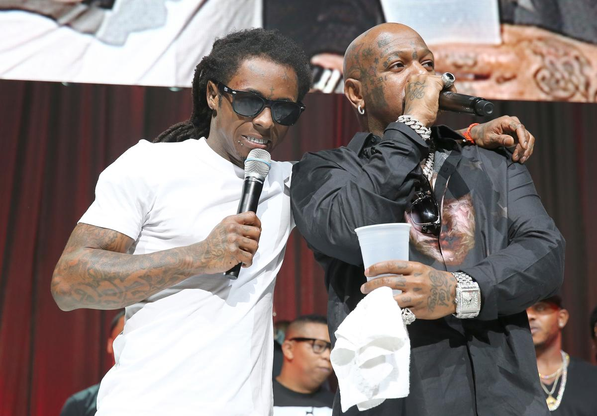Birdman & Lil Wayne together