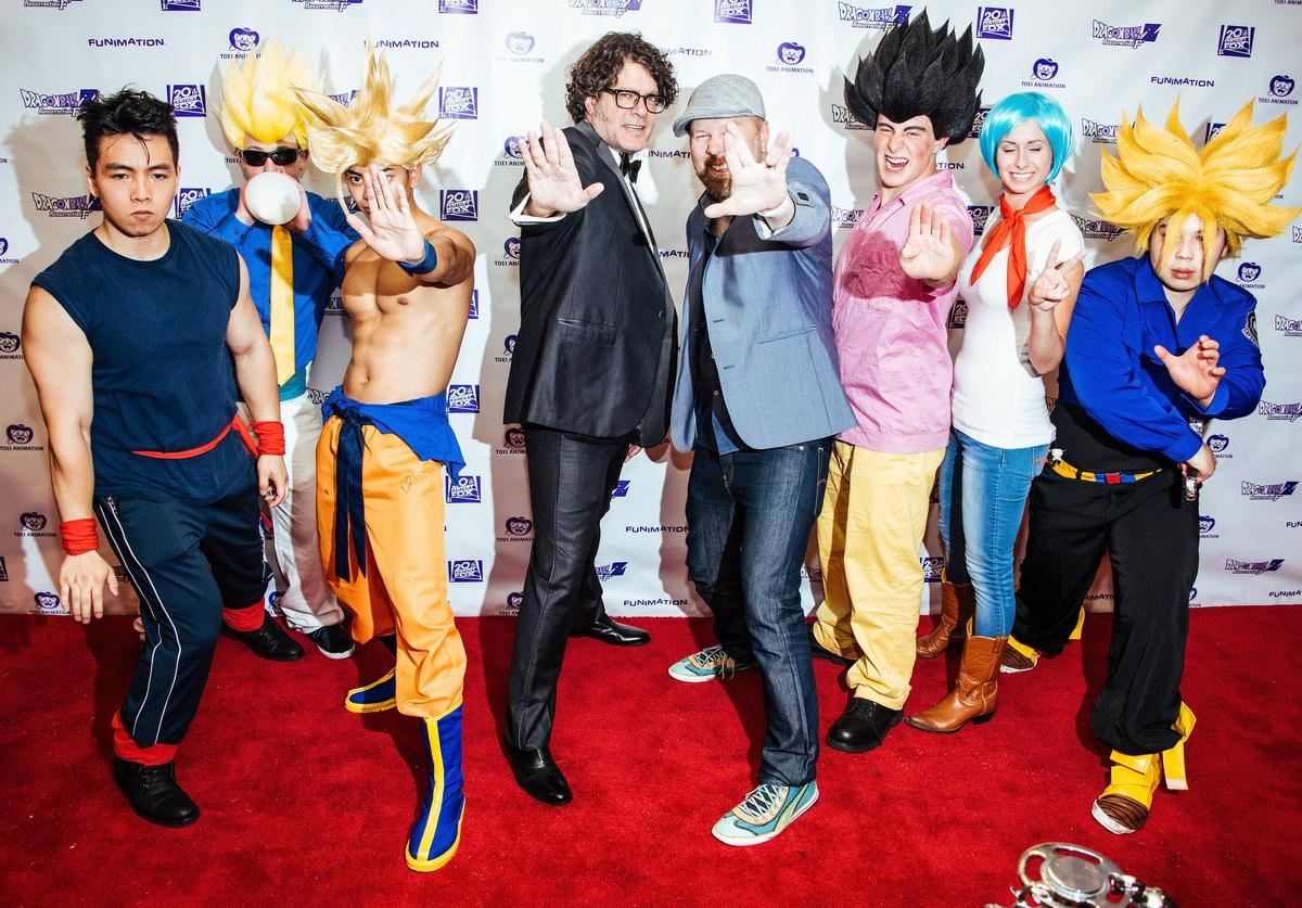 Fans at the 'Dragon Ball Z: Resurrection 'F'' premiere