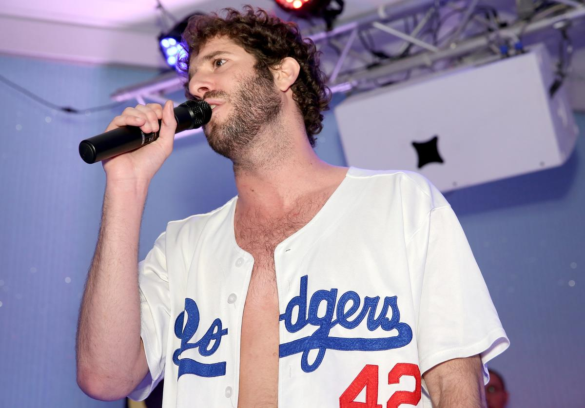 Lil Dicky performs during VH1's 'The Breaks Lounge' Scope Official Party on December 4, 2015 in Miami Beach, Florida
