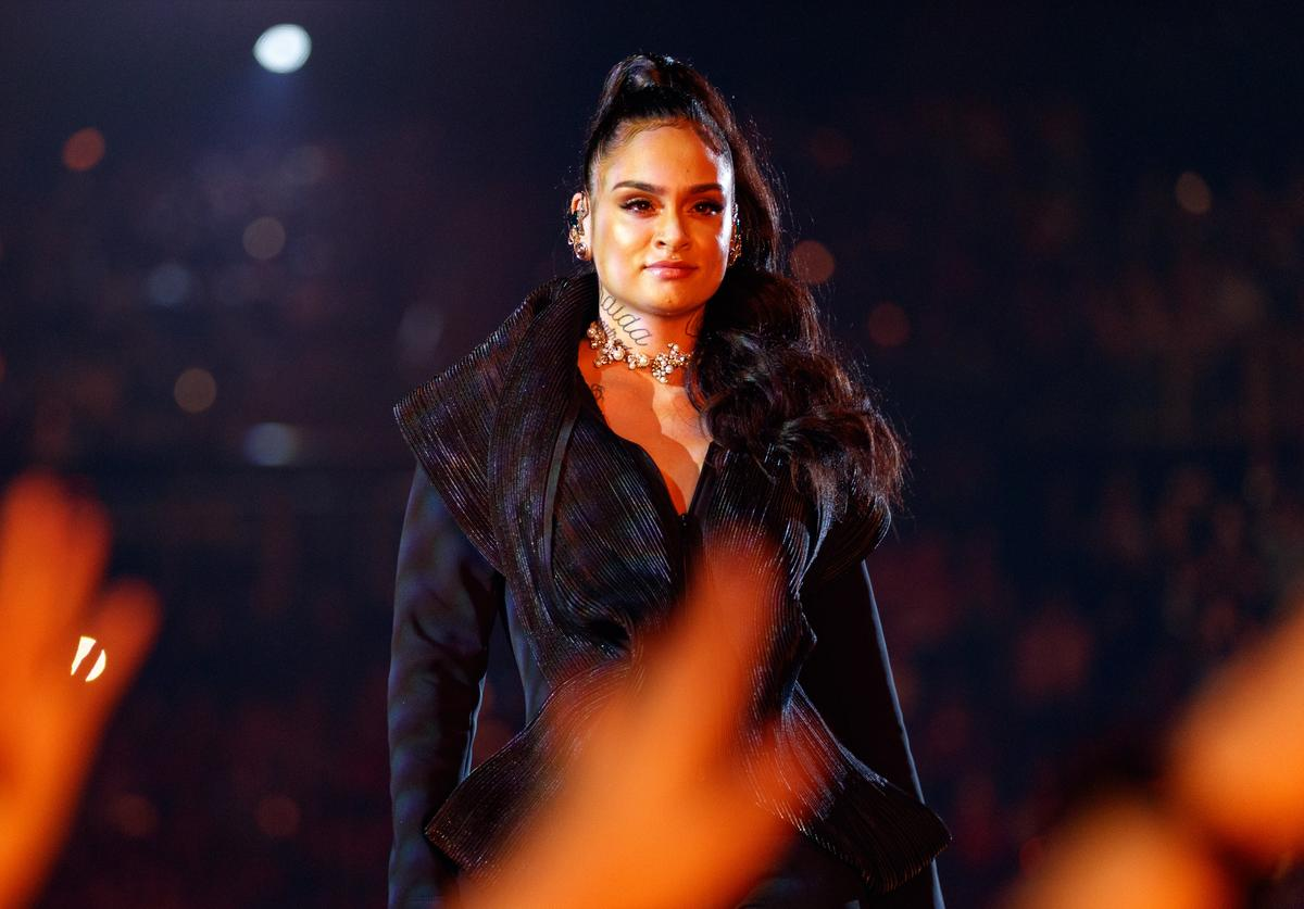 Kehlani at the iHeartRadio Music Awards