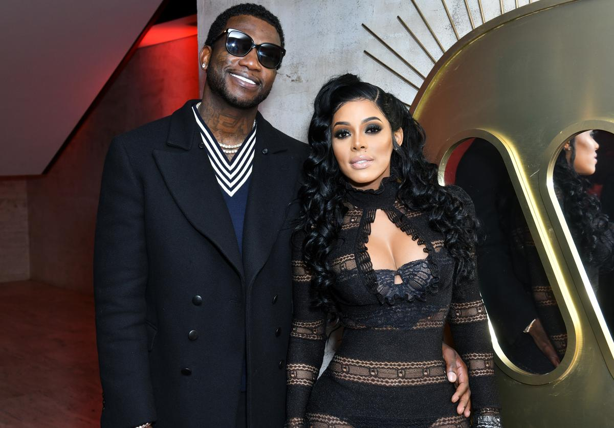 Gucci Mane and Keyshia Ka'Oir attend the Warner Music Group Pre-Grammy Party in association with V Magazine on January 25, 2018 in New York City