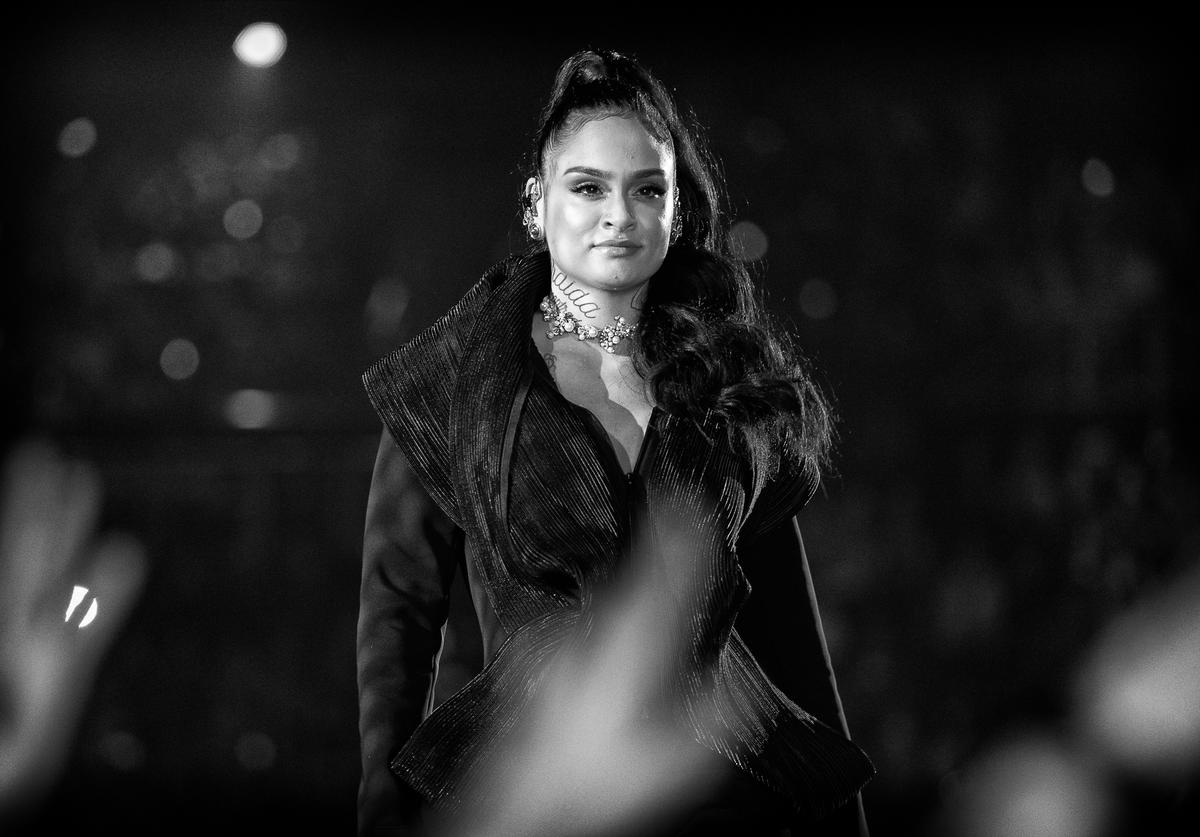Kehlani performs onstage during the 2018 iHeartRadio Music Awards which broadcasted live on TBS, TNT, and truTV at The Forum on March 11, 2018 in Inglewood, California.