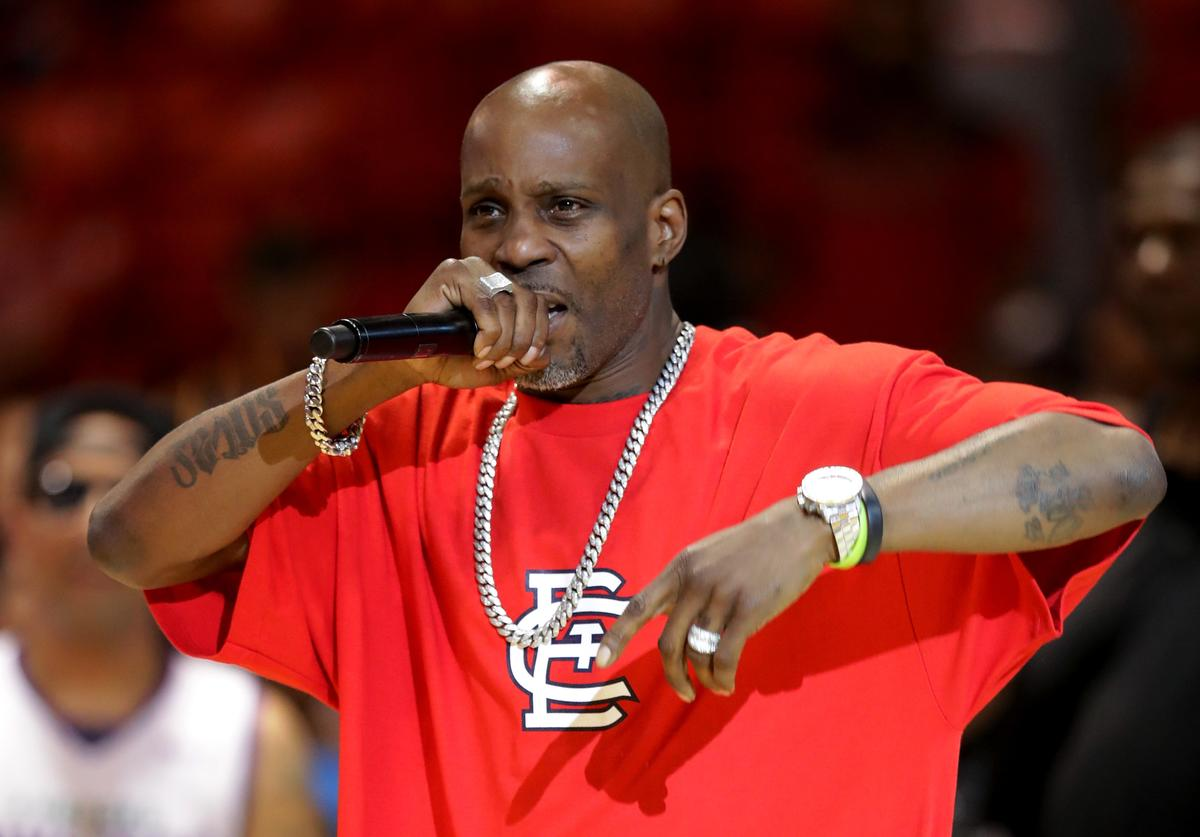 Rapper DMX performs during week five of the BIG3 three on three basketball league at UIC Pavilion on July 23, 2017 in Chicago, Illinois.
