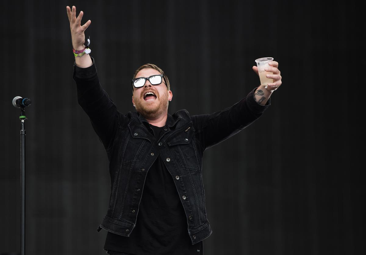 El-P of Run the Jewels performs on day 3 of the Glastonbury Festival 2017 at Worthy Farm, Pilton on June 24, 2017 in Glastonbury, England.