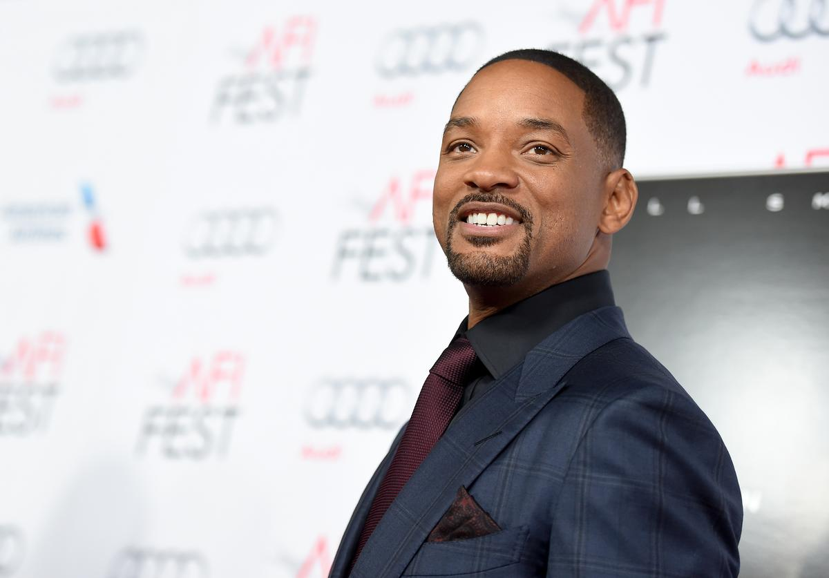 Actor Will Smith attends the Centerpiece Gala Premiere of Columbia Pictures' 'Concussion' during AFI FEST 2015 presented by Audi at TCL Chinese Theatre on November 10, 2015 in Hollywood, California.