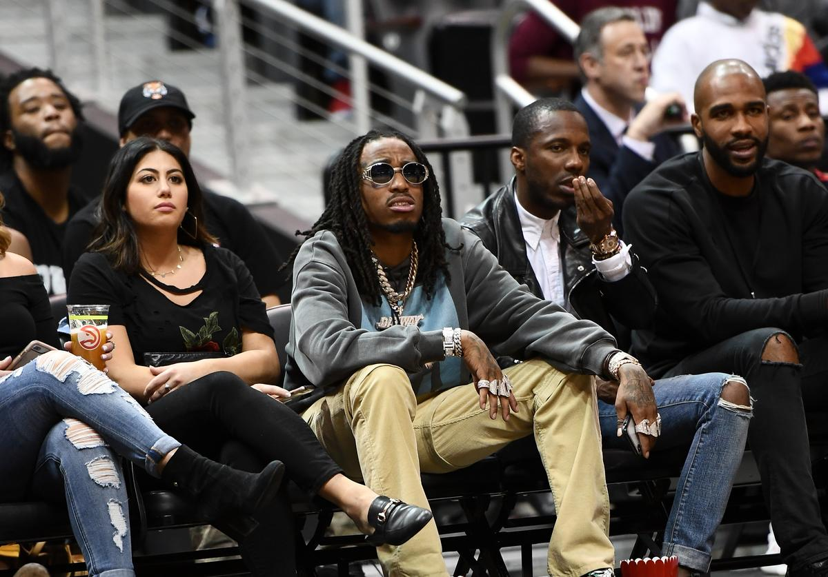 Quavo of the Migos attends the 2018 McDonald's All American Games at Philips Arena on March 28, 2018 in Atlanta, Georgia