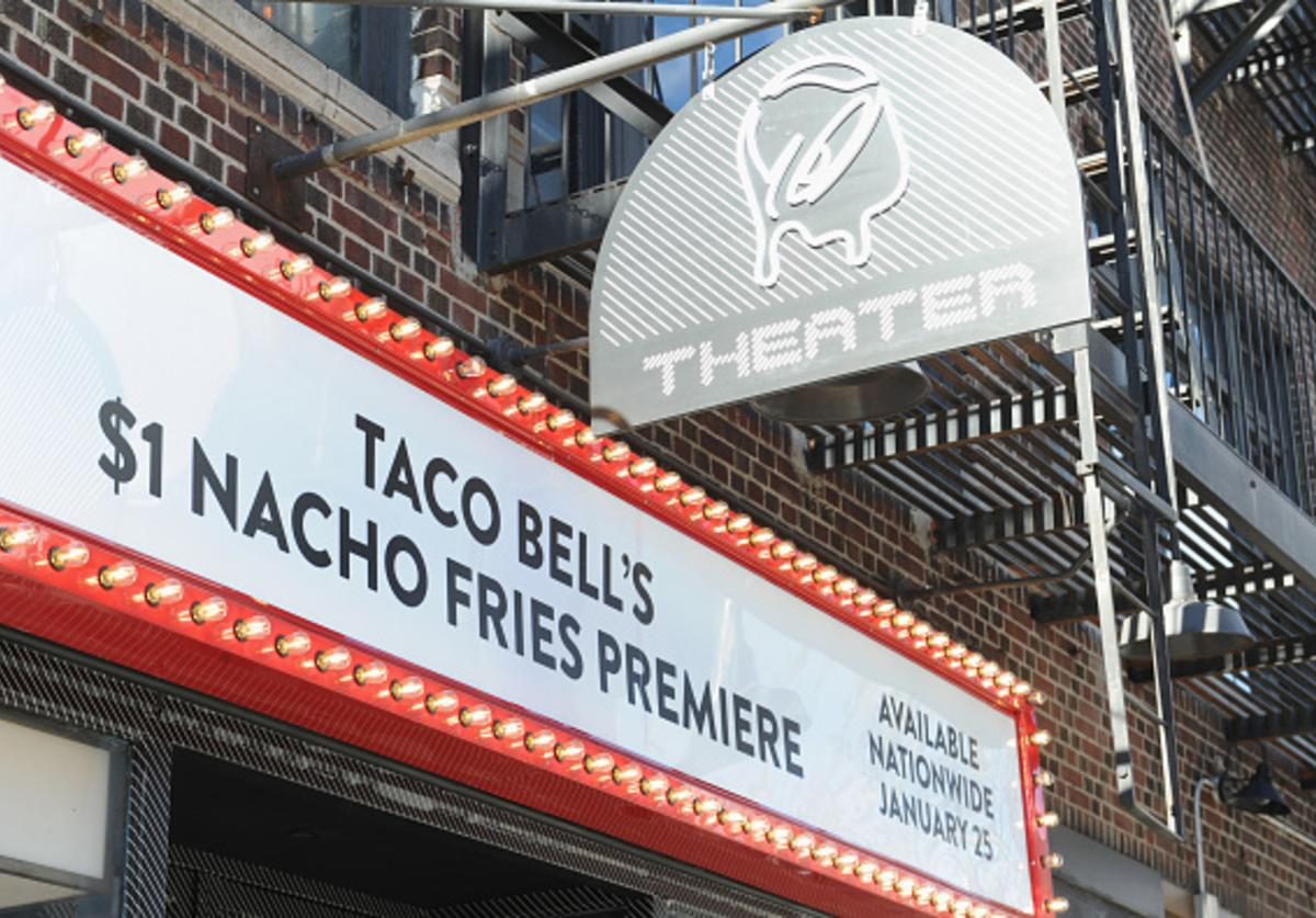 Taco Bell's $1 Nacho Fries Premiere on January 24, 2018 in New York City.