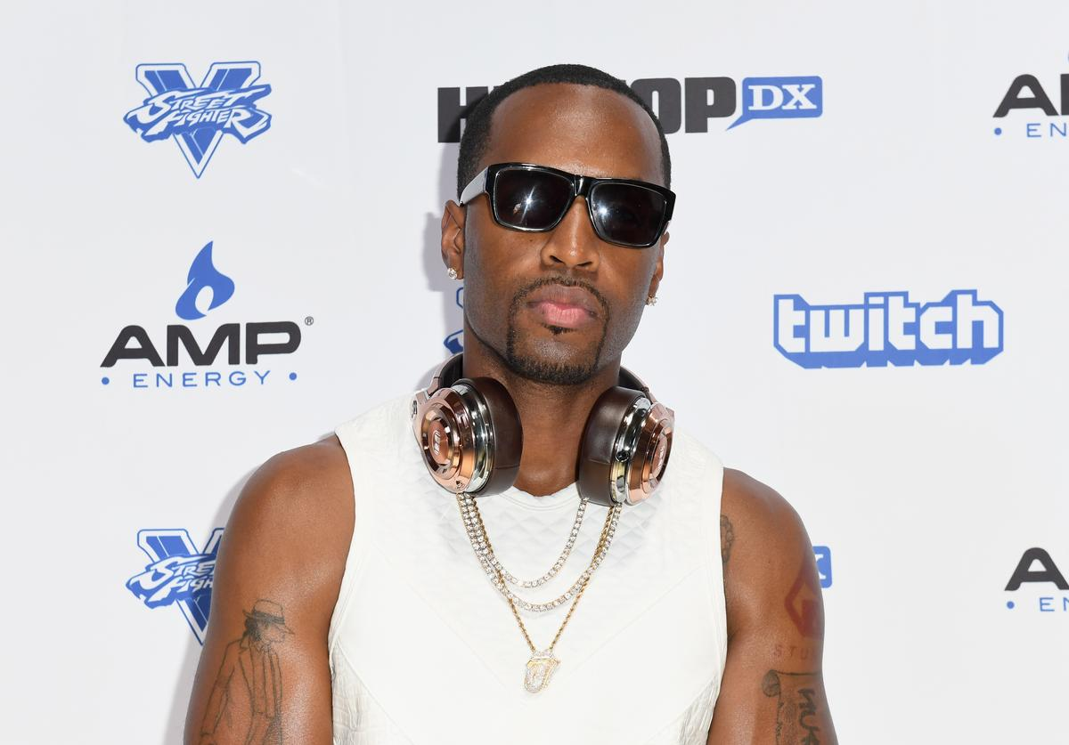 Recording artist Safaree Samuels attends Next Level Presented By AMP Energy, A Hip Hop Gaming Tournament at Rostrum Records on June 23, 2016 in Los Angeles, California.