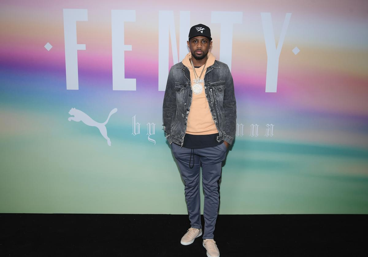 Fabolous attends the FENTY PUMA by Rihanna Spring/Summer 2018 Collection at Park Avenue Armory on September 10, 2017 in New York City.