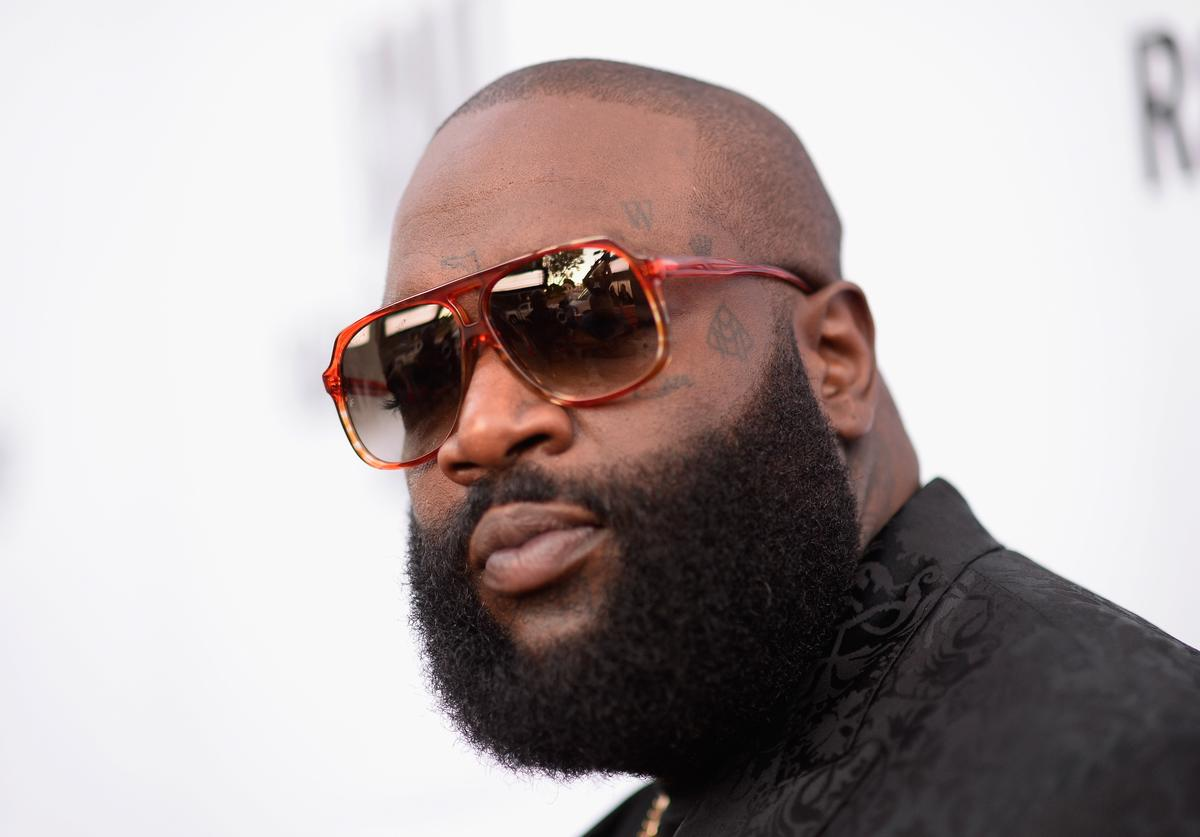 Rick Ross attends the 2015 BMI R&B/Hip-Hop Awards at Saban Theatre on August 28, 2015 in Beverly Hills, California