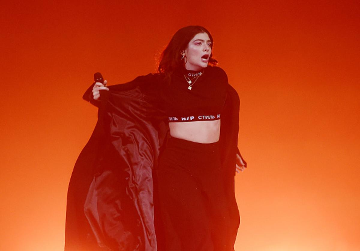 orde performs at Melodrama World Tour at Barclays Center on April 4, 2018 in New York City.