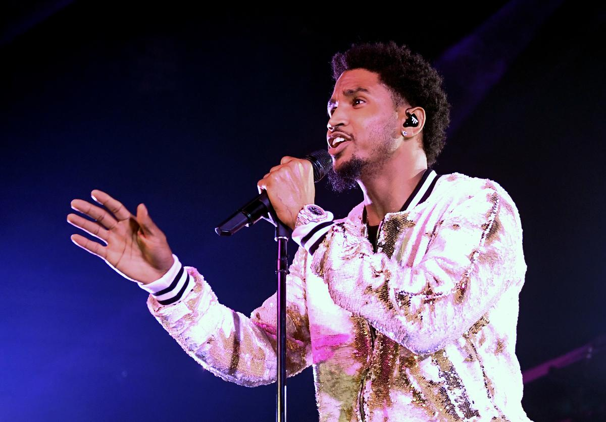 Recording artist Trey Songz performs at Brooklyn Bowl Las Vegas on June 1, 2017 in Las Vegas, Nevada.