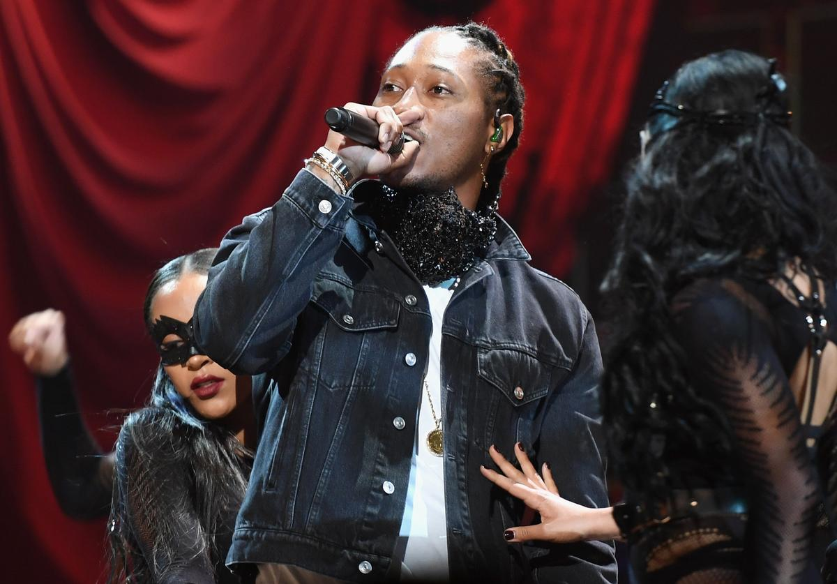 Future peforms onstage at 2017 BET Awards at Microsoft Theater on June 25, 2017 in Los Angeles, California.
